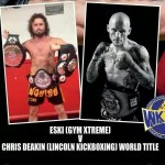 Chris Deakin fights for World Title this weekend