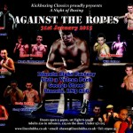 Boxing Show – Against the Ropes 31/01/15