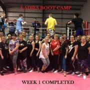 Ladies Boot Camp 1st week