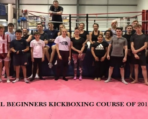 Final Beginners Kickboxing 2018